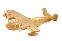 Wykonana zdrewna łódź latająca
