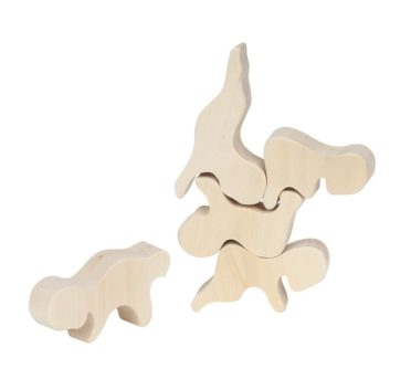 "Układanka drewniana typu ""Ginga kobo toys"""