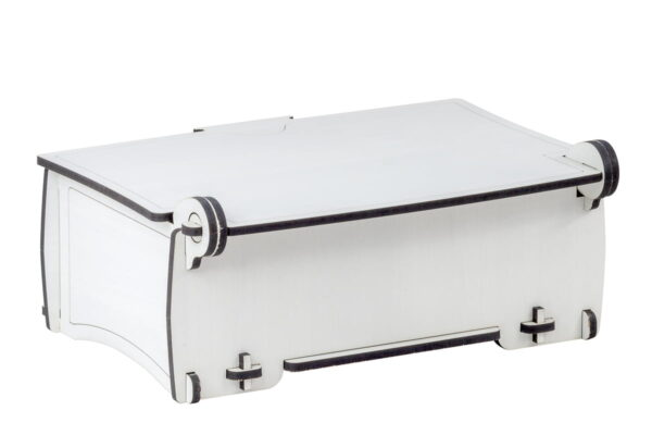 Ozdobne pudełko, kuferek z drewna
